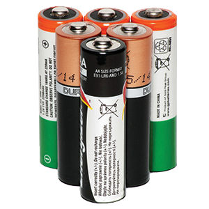 Recycling – batteries