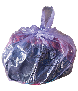 Recycling - textile recycling bag
